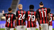 Franck Kessie, Ismael Bennacer, Simon Kjaer, Zlatan Ibrahimovic