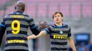 Romelu Lukaku y Nicolo Barella,Inter de Milán