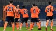 Medipol Başakşehir'in gol sevinci