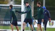 Alessandro Bastoni, Nicolo Barella, Francesco Acerbi