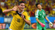 James Rodriguez has joined the club from Real Madrid
