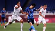 La selección mexicana fue neutralizada por Japón