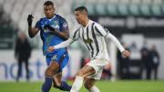 Cristiano Ronaldo all'andata contro l'Udinese