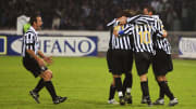 Alessandro Del Piero celebrates one of his 20 Serie B goals
