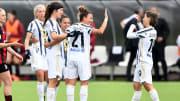 La gioia di Juventus Women