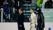 Cristiano Ronaldo & Massimiliano Allegri