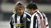 Pavel Nedved (left) and Alessandro Del Piero were two crucial members of the Juventus team that reached the 2003 Champions League final