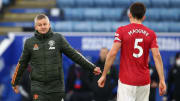 Harry Maguire is on track to make the Europa League final