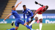 Manchester United e Leicester City medem forças na reta final da Premier League.