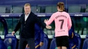 Ronald Koeman rued the lack of time to replace Antoine Griezmann