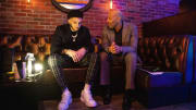 LiAngelo Ball and LaVar Ball at Gelo's 21st birthday party