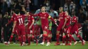 Jordan Henderson celebrates his Champions League winner ahead of the Premier League visit of Crystal Palace