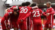 Liverpool beat Aston Villa in their last league game