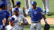 Keibert Ruiz espera por su visa para unirse a los Dodgers