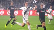 Ibrahimovic anotó en su debut en Los Ángeles Galaxy