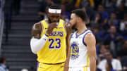 LeBron James siempre ha querido jugar con Stephen Curry