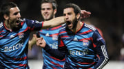 Lyon's Argentinian forward Lisandro Lope