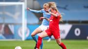 Manchester City-Birmingham City kadın futbol maçından