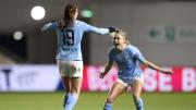 Caroline Weir hit a sumptuous lob against Manchester United