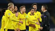 Das Schiri-Gespann stand bei Man City vs. BVB im Fokus