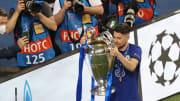 Jorginho festeggia la Champions League vinta