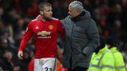 Luke Shaw has fired back at Jose Mourinho