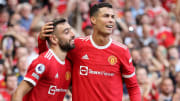 Cristiano Ronaldo didn't disappoint on his second Man Utd debut
