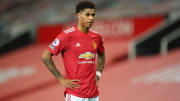Marcus Rashford has been dealing with a shoulder issue