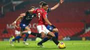 Anthony Martial a inscrit un doublé contre Southampton mercredi soir.