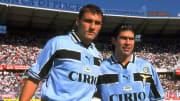 Marcelo Salas dan Christian Vieri saat keduanya bermain untuk Lazio