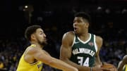 The Milwaukee Bucks and Golden State Warriors could come together on a trade involving Klay Thompson and Giannis Antetokounmpo.
