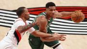 Giannis Antetokounmpo sigue jugando en modo MVP para los Bucks