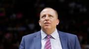 New Knicks head coach Tom Thibodeau