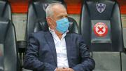 El entrenador Javier 'Vasco' Aguirre.