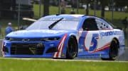 NASCAR odds today favor Kyle Larson in the Quaker State 400 at Atlanta Motor Speedway.
