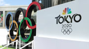 """NBC Olympics Launches """"Rings Across America"""" Tour Life-Size Set Of Iconic Olympic Rings At Universal"""
