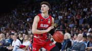 LaMelo Ball playing for the Illawarra Hawks