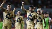 Jugadores de los Pumas UNAM.