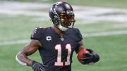 Julio Jones ha sido descartado en los últimos tres juegos de los Falcons