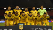 Newell's Old Boys v Boca Juniors - Copa De La Liga Profesional 2021 - La formación de Boca.