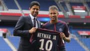 Neymar joined PSG from Barcelona for €222m in 2017