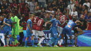 Incidents survenus lors du match Nice-OM