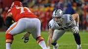 Raiders edge rusher Maxx Crosby says he's going to sack Patrick Mahomes next season.
