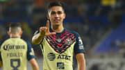 Salvador Reyes fue el encargado de marcar por parte del América.