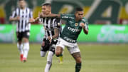 Palmeiras e Galo fizeram jogo morno no Allianz Parque