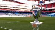 Ilustrasi trofi Liga Champions