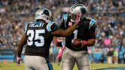 Quarterback Cam Newton and running back Tolbert as members of the Carolina Panthers
