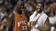 Shaq and Rasheed Wallace