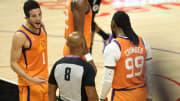 NBA Finals refs Game 5: List of referees for Bucks vs Suns tonight.