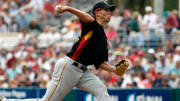 Former Pittsburgh Pirates right-hander Bryan Bullington